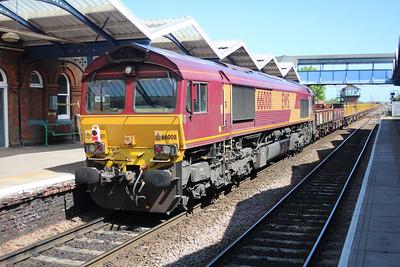 66125 tnt 66008 1434/6t11 Whitemoor-Stratford 25/05/13.