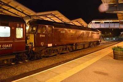 57314 2239/1z12 Edinburgh-Norwich stops at March to set down.