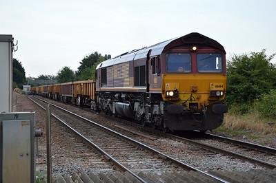 66164 1909/6G03 Whitemoor-Werrington passes Norwood Road Crossing.