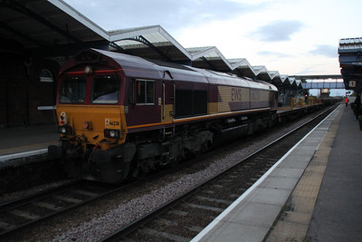 66066 TnT 66238 2107/6T65 Whitemoor-Clapton passes March 09/06/12.