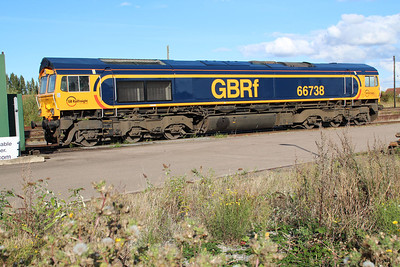 66738 at March GBRF Depot 22/09/12