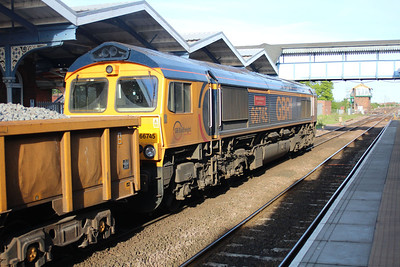 66745 1842/6t67 Whitemoor-Carpenters Road passing March 25/05/13.