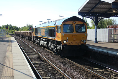 66746 1744/6t66 Whitemoor-Carpenters Road passing March 25/05/13.