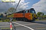 70805, Charbridge Lane Level-Crossing, Bicester, 6C30, 14th May 2014