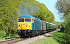 56006 powers through Quarr farm crossing 09/05/2015.
