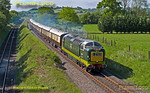 D9009 'Alycidon', Saunderton Lee, 1Z55, 16th May 2015