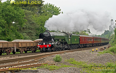 """60103 """"Flying Scotsman"""", Southcote Junction, 1Z60, 28th May 2016"""
