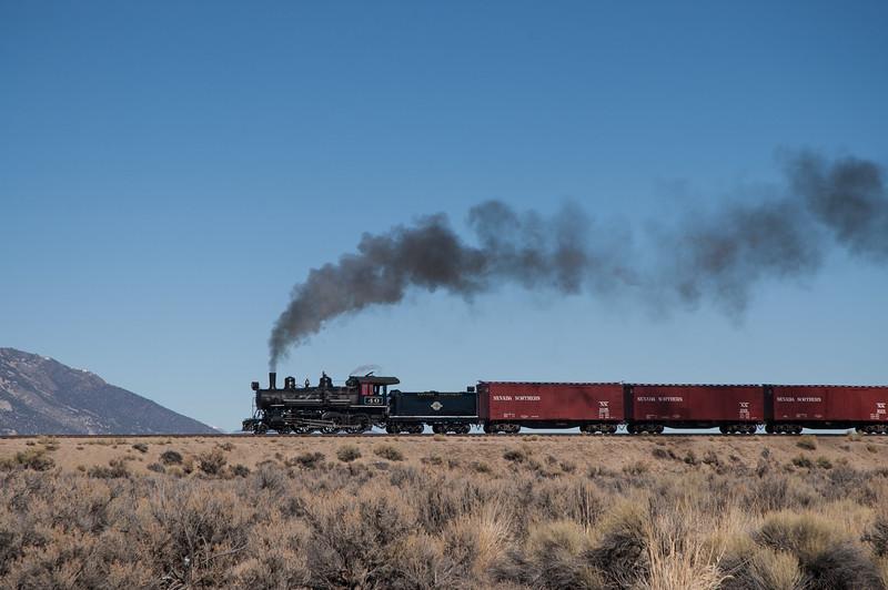 Across the Nevada Desert