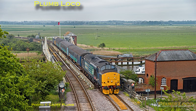 37419, Reedham Swing Bridge, 2J67, 15th May 2018