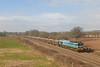 59001 6C28 1200 Exeter Riverside Yard - Westbury 1331 MT Stone wagons, 16 JYA Silverton 1110 12/02/10