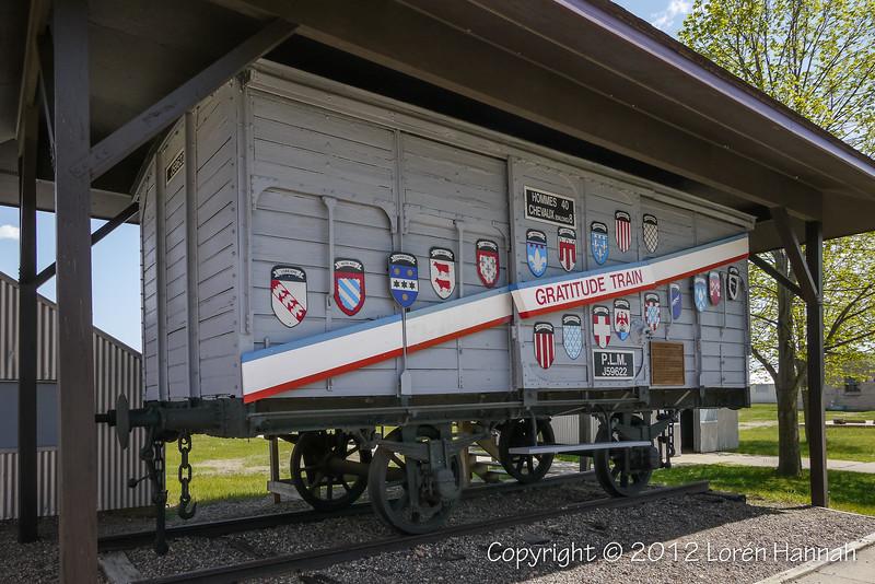 Minnesota Merci Train Boxcar