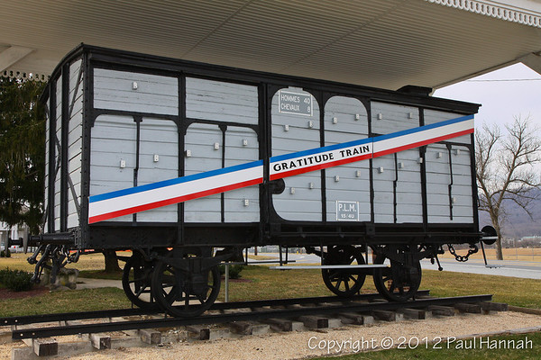 Pennsylvania Merci Train Boxcar
