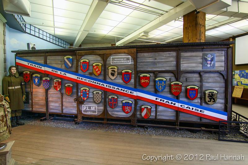 Rhode Island Merci Train Boxcar