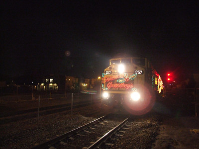 Metrolink Holiday Toy Express - 12/20/08