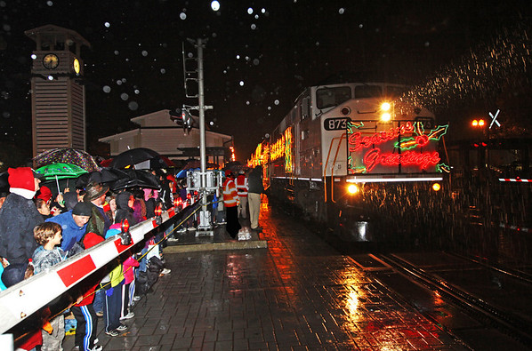 2010 Metrolink Holiday Toy Express