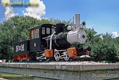 Avalos Tramway No. 2, Saltillo Station, 9th June 1986