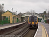 26 January 2011. Alton:- Class 450 EMU.  Copyright Peter Drury 2011<br /> This train is waiting in platform 1 as the next service to London (Waterloo).<br /> The buffer stops for this platform road can be seen behind the train.