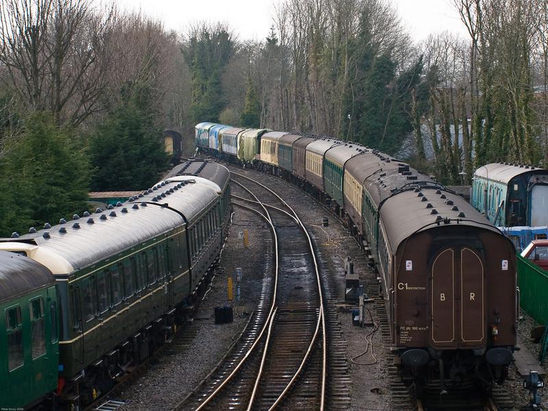 Alresford - Mid Hants Railway. Copyright 2009 Peter Drury