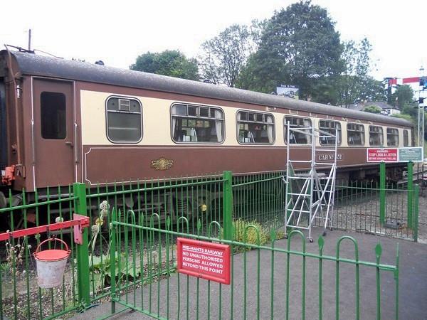 Car No 351Pullman Parlour Second - Mid Hants Railway