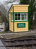 26 January 2011. Ropley:- Crossing keepers hut.  Copyright Peter Drury 2011<br /> Located at the Alresford end of the station, at the platform ends.