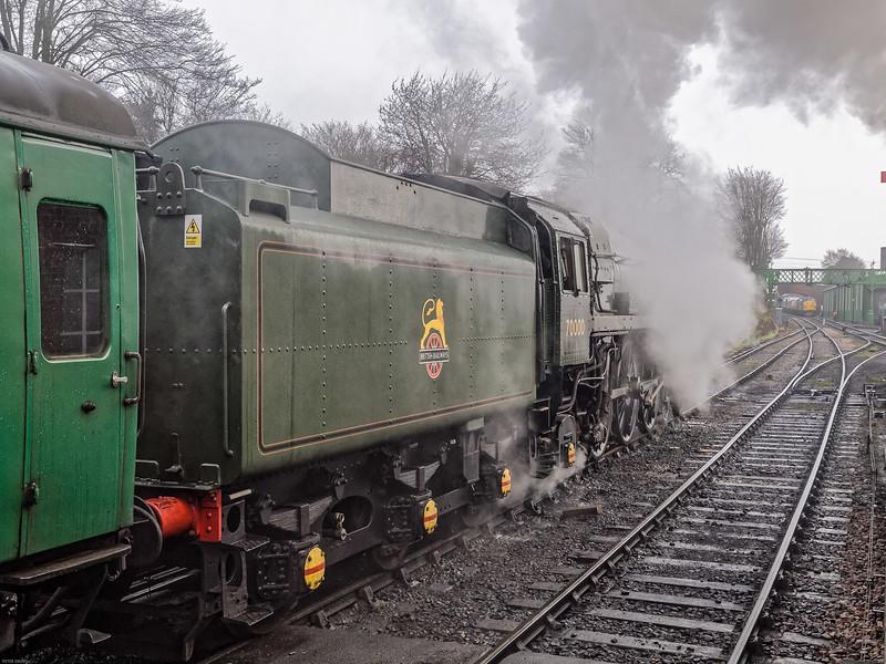 Standard Class 7 No 70000 Brittania