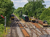 11 Jun 2011. Permanent Way sidings at Meadstead & Four Marks. Copyright Peter Drury 2011
