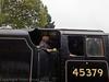 30 Oct 2011 Black 5 45379 arriving at Medstead & Four Marks.
