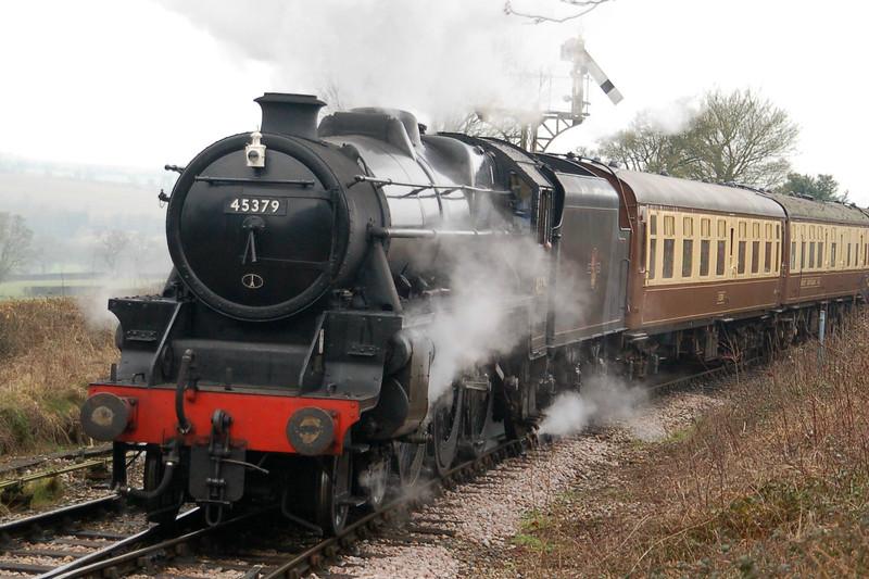 45379 - Ropley, Mid-Hants Railway - 15 February 2015