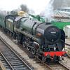70000 Britannia - Medstead & Four Marks, Mid-Hants Railway - 15 February 2015