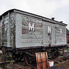 291 LNWR Non Vent Van Plank 'Box Van' - Mid Norfolk Railway