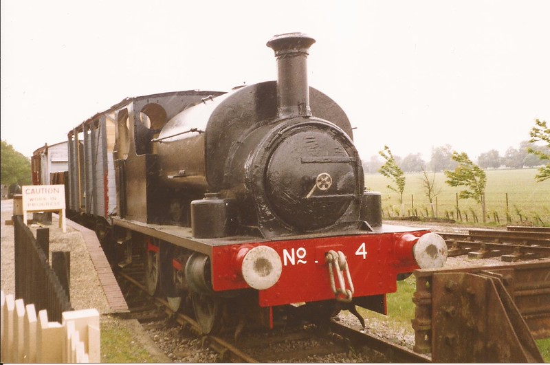 HC 1604 No.4 - Mid-Suffolk Light Railway - 18 May 2003