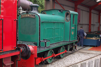 "This was the best shot I could manage of ""Carroll"" (Hudswell Clarke D631/1946)"