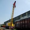 Taylor & Hubbard Crane DRT 81340 - Swanwick Jct, Midland Railway Centre - 13 July 2013