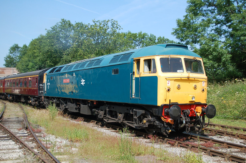 47401 North Eastern - Butterley, Midland Railway Centre - 13 July 2013