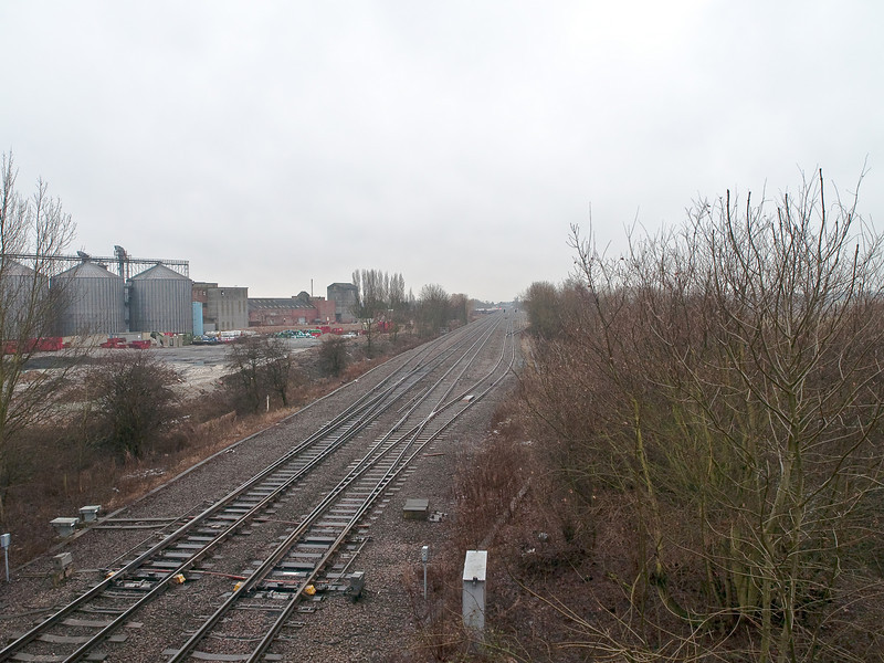 Milford Junction - York Line. Copyright Peter Drury 2010