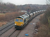 Milford Junction - Selby Line. Copyright Peter Drury 2010<br /> A loaded Freightliner coal train approaches from the Selby line.