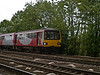 Local Service - York to Sheffield.<br /> Pacer 144010 on the quad track section just south of Milford Junction.