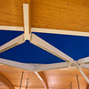 Detail of the roof at Brentwood Town Centre Station.