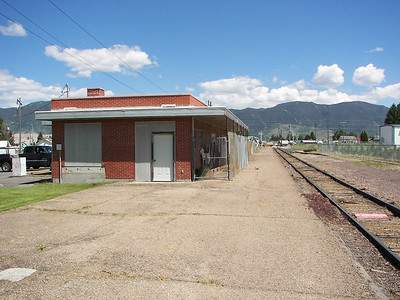 Second Milwaukee Butte Depot Looking East