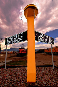Milwaukee Road Golden Spike Deer Lodge Montana