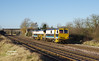 DR75403 passes New Barnetby on Wed 23rd December 2015 forming the 07:26 Scunthorpe Frodingham - Scunthorpe Frodingham.