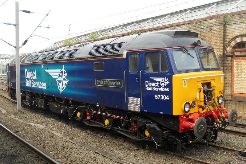 57304 Pride of Cheshire - Crewe - 12 May 2017