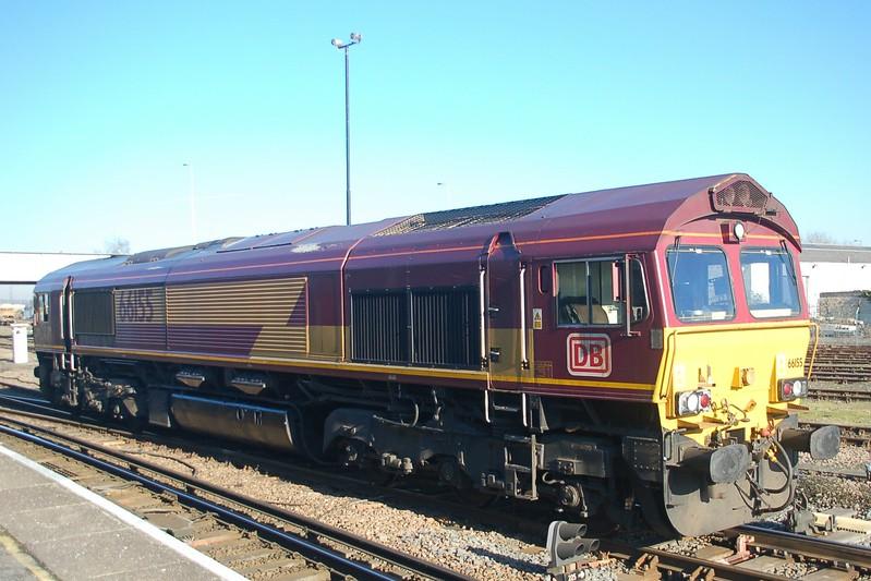 66155 - Eastleigh - 20 January 2017