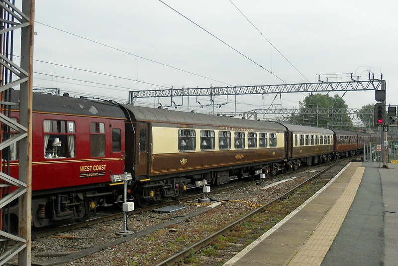 Pullman Coach Topaz - Crewe - 12 May 2017