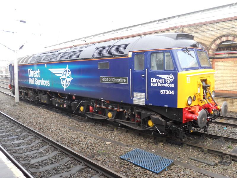 57304 Pride of Cheshire - Crewe - 28 January 2017