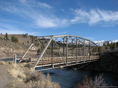 Old bridge West of Reno, Nevada