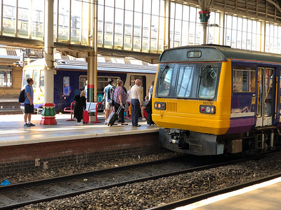 Class 142 at Preston
