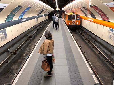Glasgow Subway at Shields Road