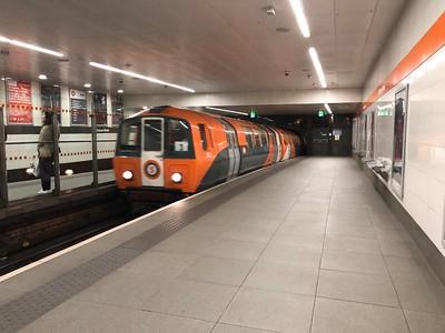 Glasgow Subway at Buchanan Street