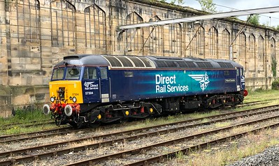 Class 57 at Carlisle
